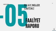 İlmiye Vakfı Mayıs Ayı Faaliyet Raporu
